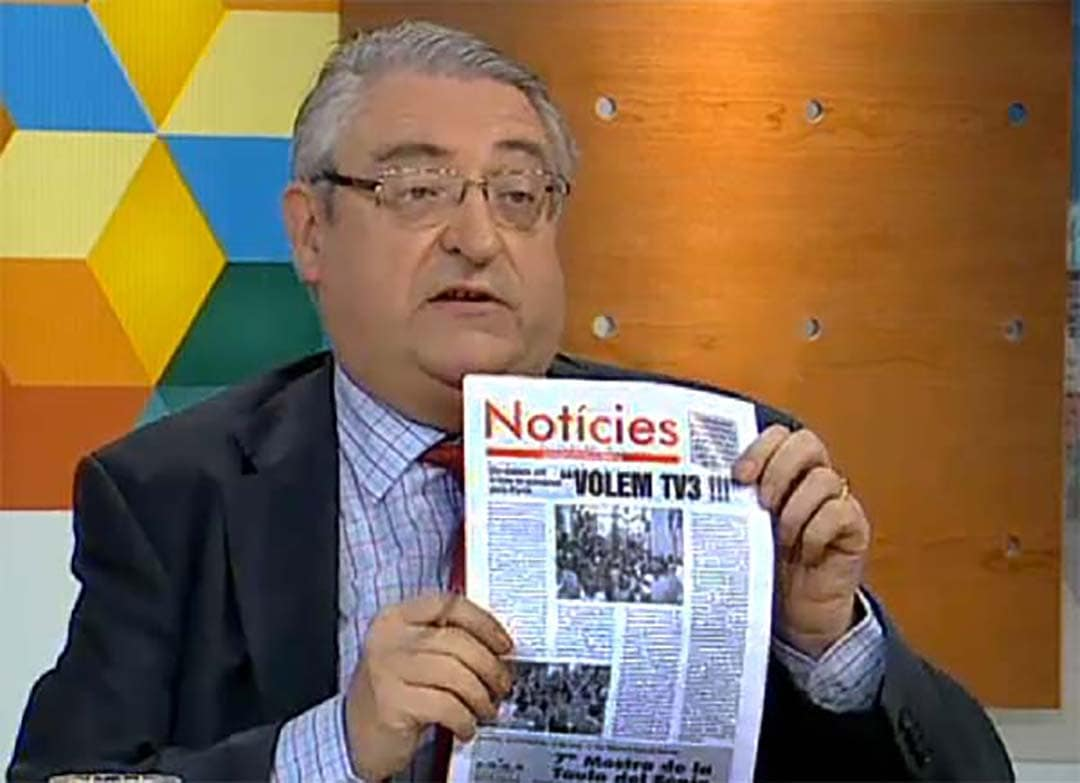 Un número del setmanari Notícies, a TV3