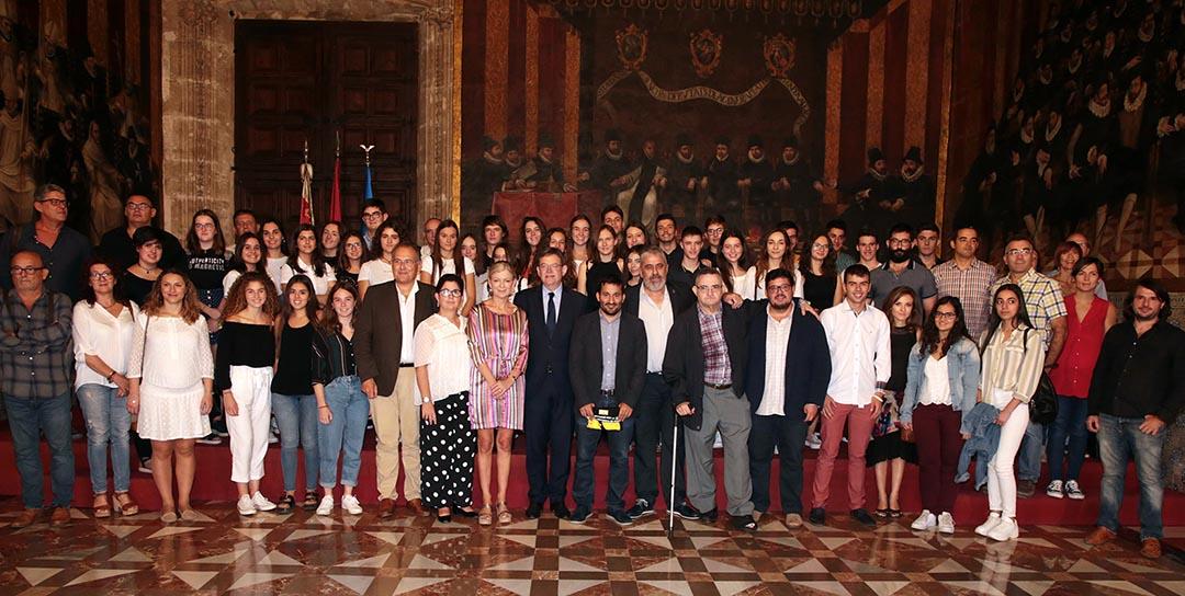 Ximo Puig reivindica la unió 'enfront de l'odi i la xenofòbia' present a Europa