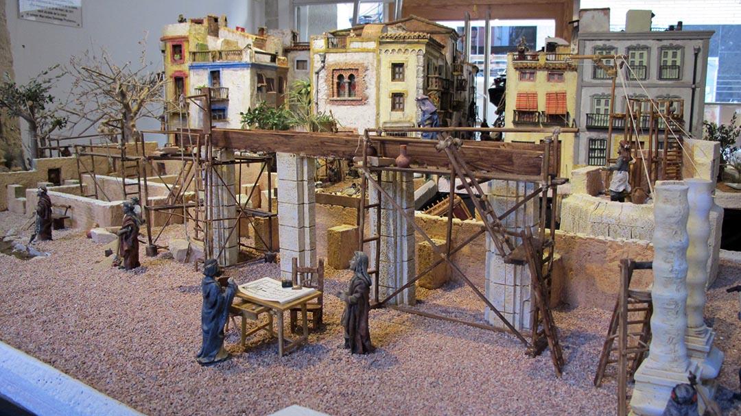 Un betlem monumental reconstrueix la història de Benicarló