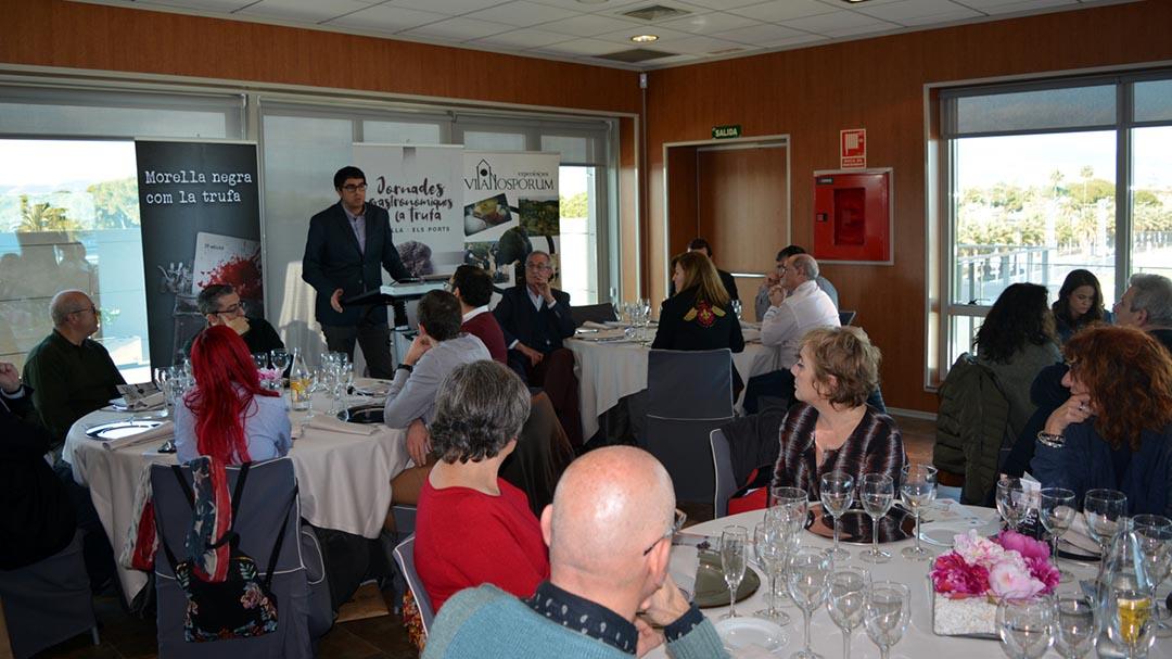 Morella presenta les XVI Jornades de la Trufa al CdT de Castelló