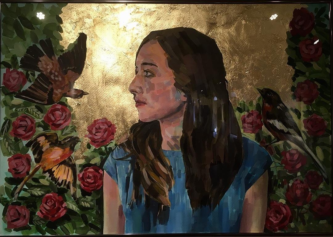 Irene Furió i Nahikari Serrat guanyen el XXVI Concurs de Primavera de Dibuix i Pintura