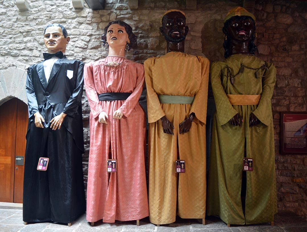 Els Gegants visitaran el Castell de Morella aquest cap de setmana pel visitant 1 milió