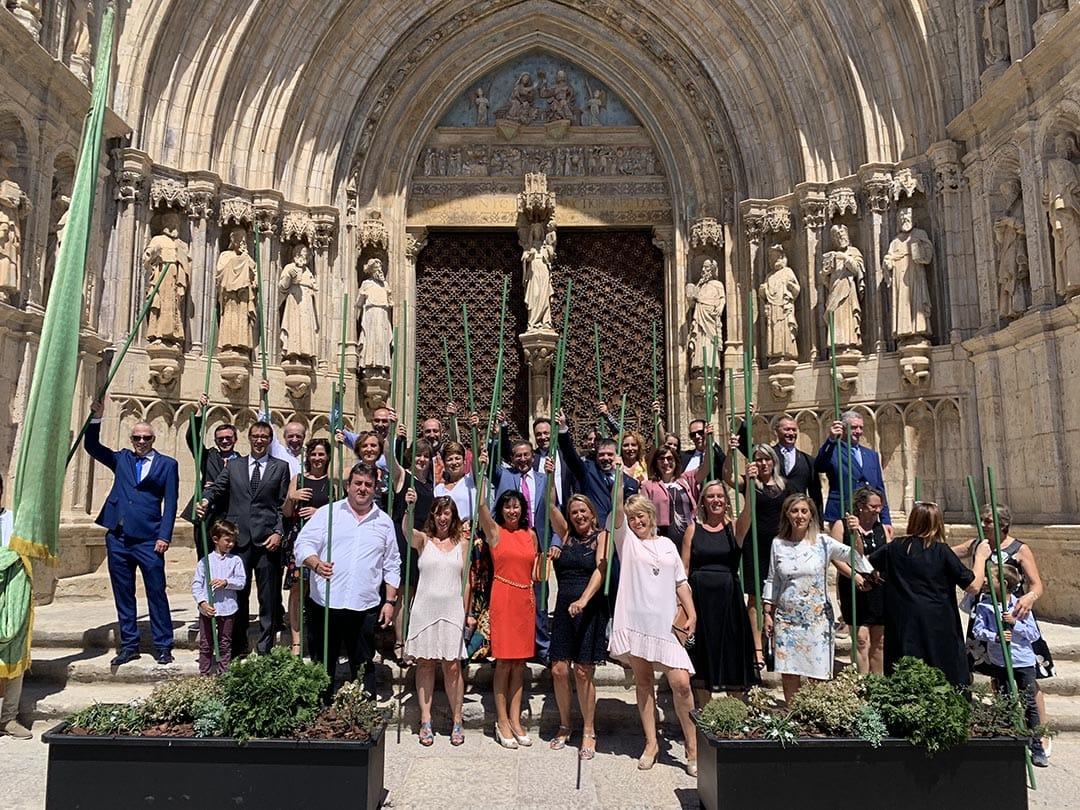Els majorals del Sant Antoni de Morella 2020 s'estrenen al càrrec