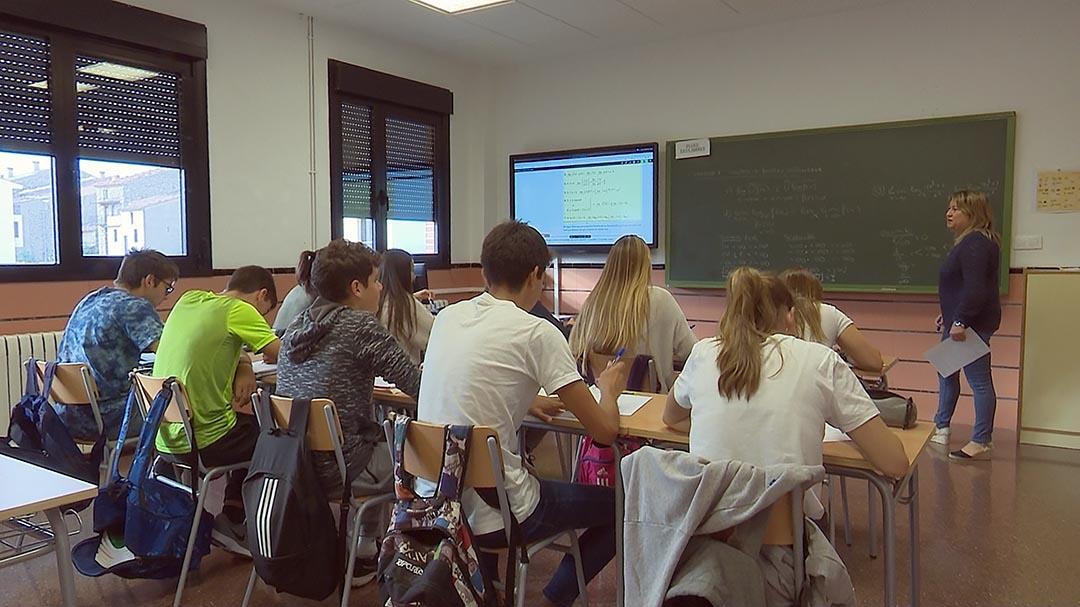 L'IES Vilafranca comença el curs amb 128 alumnes i 27 professors