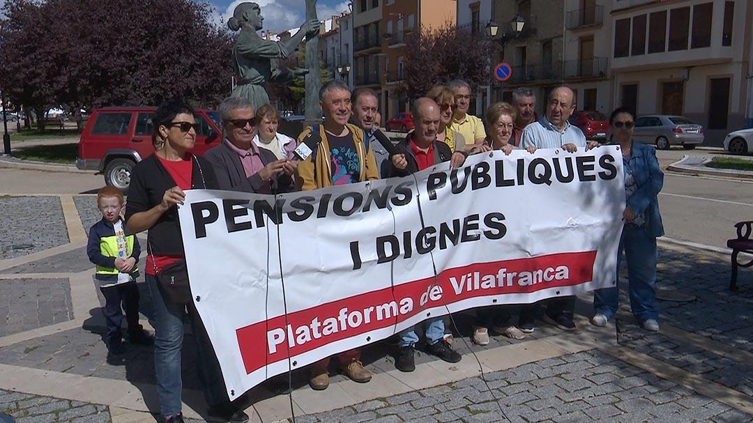 Nova reivindicació de les pensions públiques
