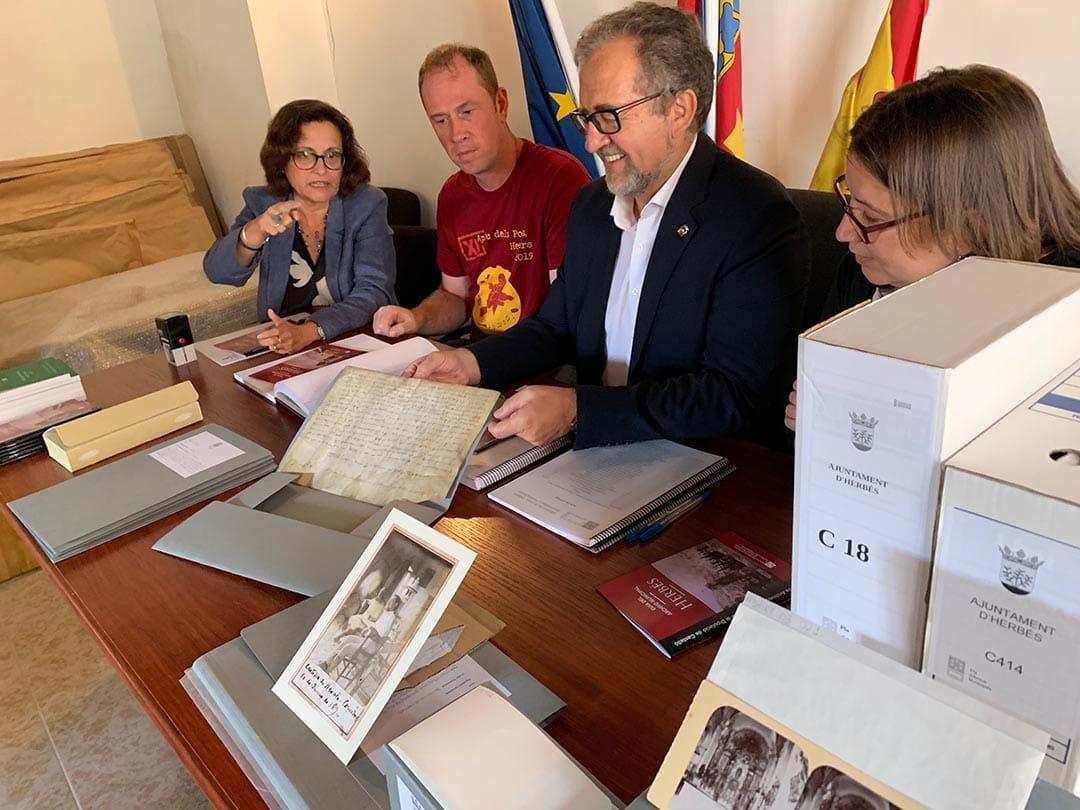 Es digitalitzen 5.200 arxius documentals i fotogràfics per a salvaguardar la història d'Herbers