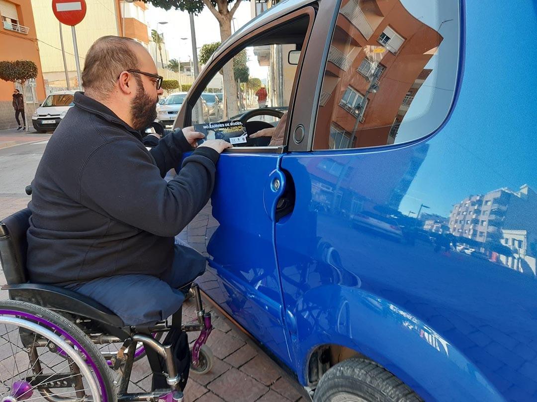 Campanya de sensibilització 'No canvies de rodes'