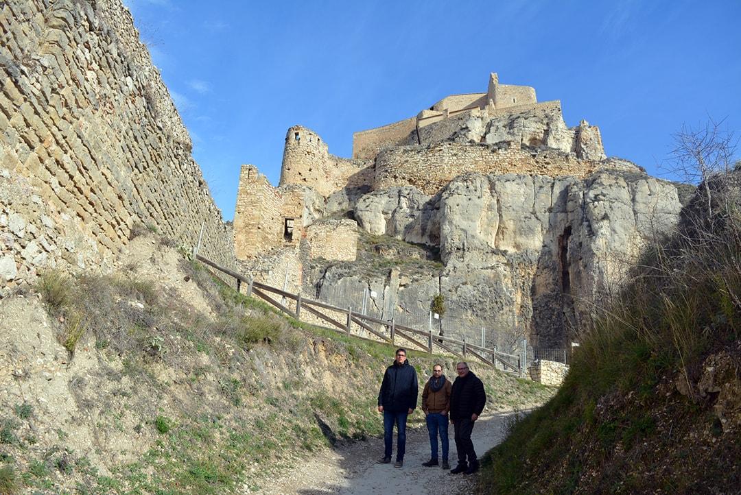 Comencen les obres d'emergència a la muralla i les torres de Sant Francesc i la Pardala