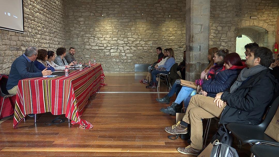 Alumnes de turisme de l'UJI visiten Morella