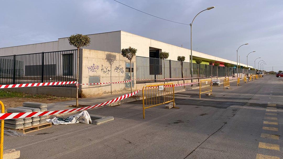 S'inicien els treballs de millora dels accessos al CEIP Eduardo Martínez Ródenas
