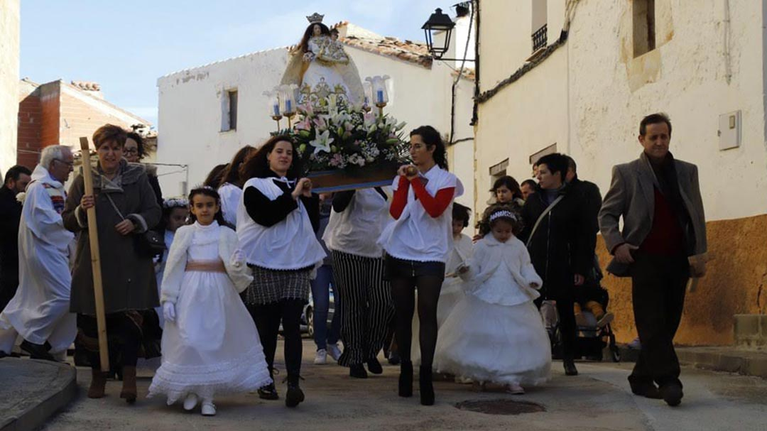 """Portell celebra la festa de l'Esperança amb la missa i les """"dites"""""""