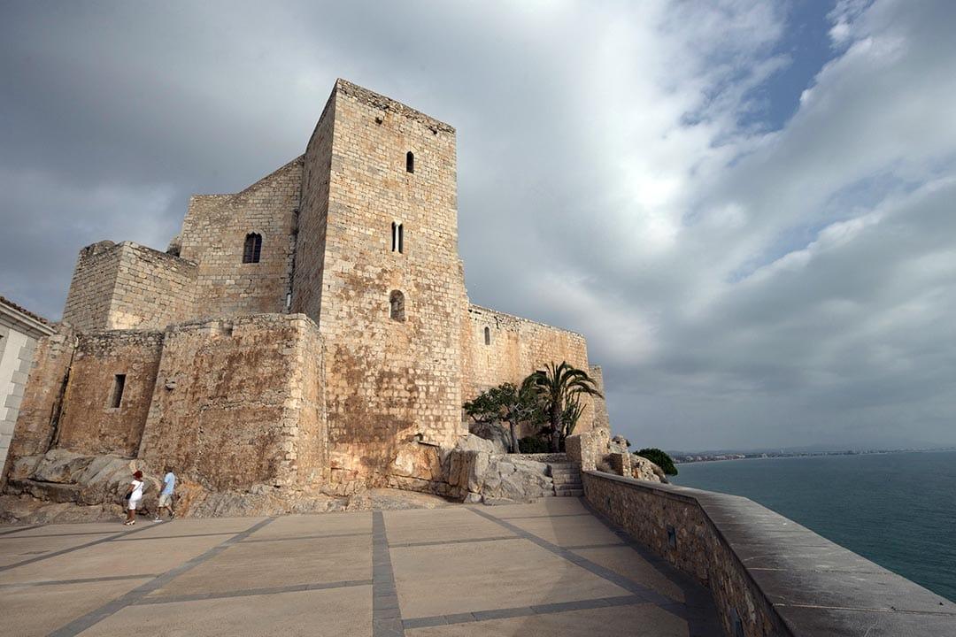 El Castell de Peníscola duplica al juliol amb 40.000 visites el registre de 2020