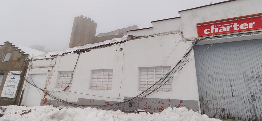 La borrasca Glòria marxa deixant el pes de la neu als Ports