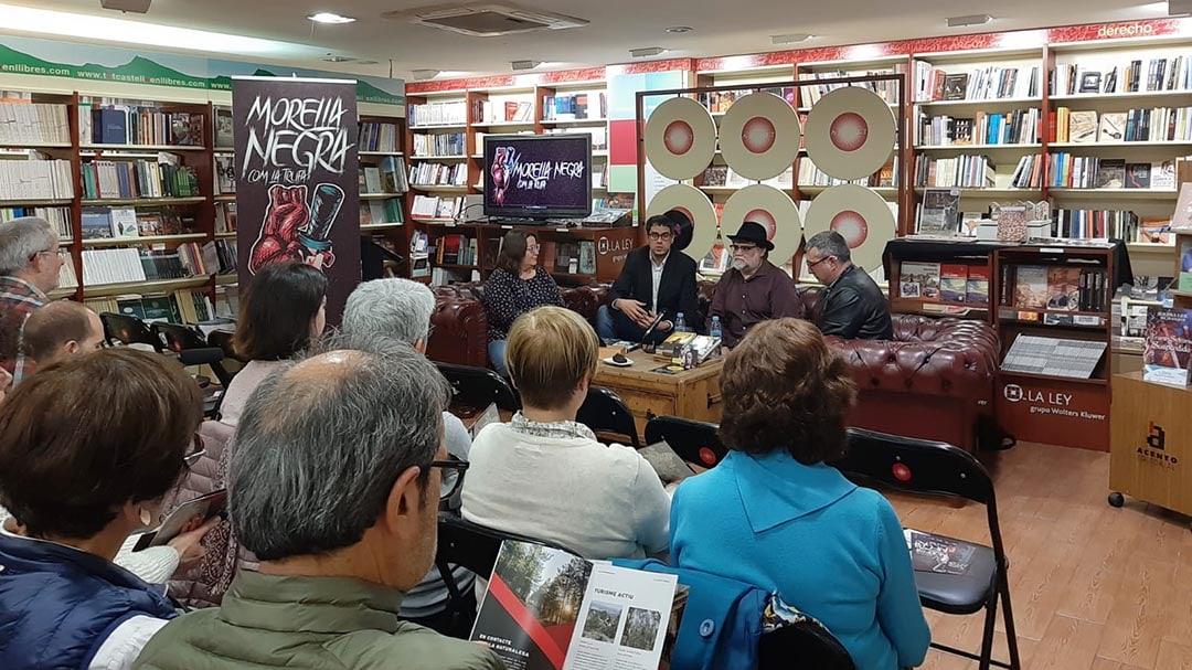"""""""Morella negra com la trufa"""" es presenta a la llibreria Argot de Castelló"""