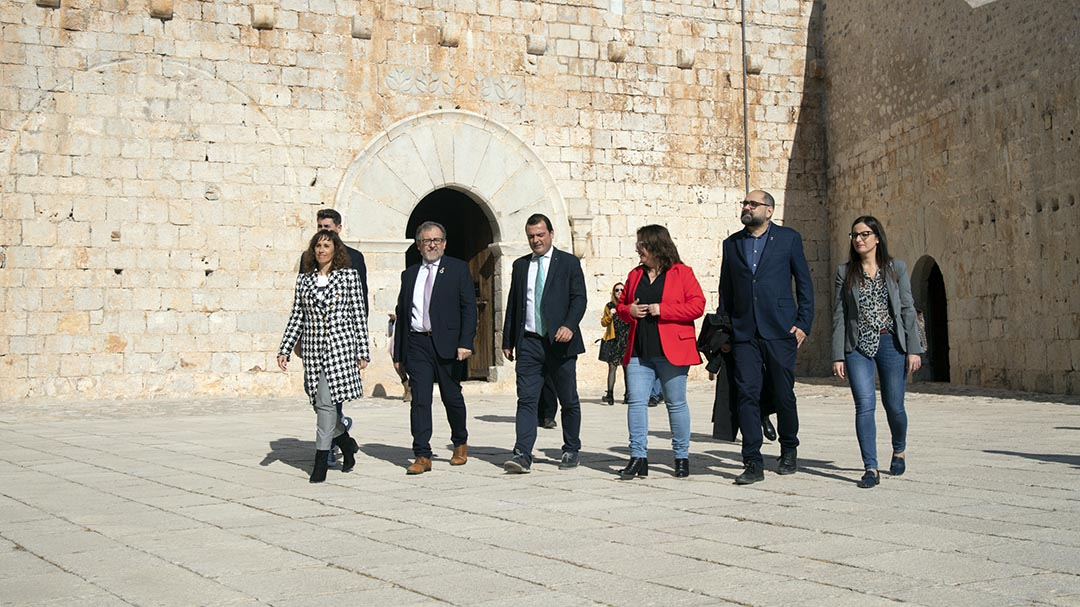 El Castell de Peníscola serà accessible al 2021 en finalitzar la rehabilitació