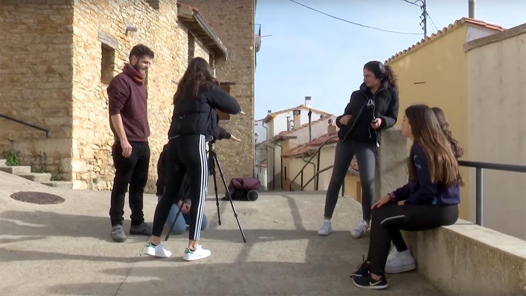 Els alumnes de l'institut de Vilafranca roden 4 documentals