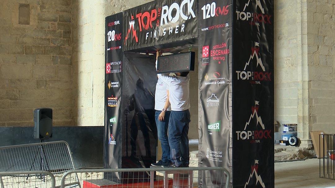 La cursa Top of the Rock canvia la seua meta per les obres del Castell