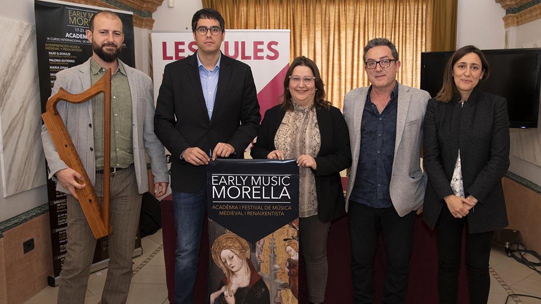 L'Early Music Morella rebrà el Premi anual de turisme d'Asetmico