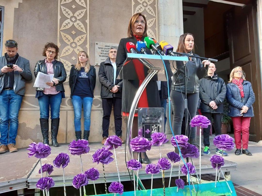 Benicarló reivindica la igualtat de gènere en el Dia de la Dona