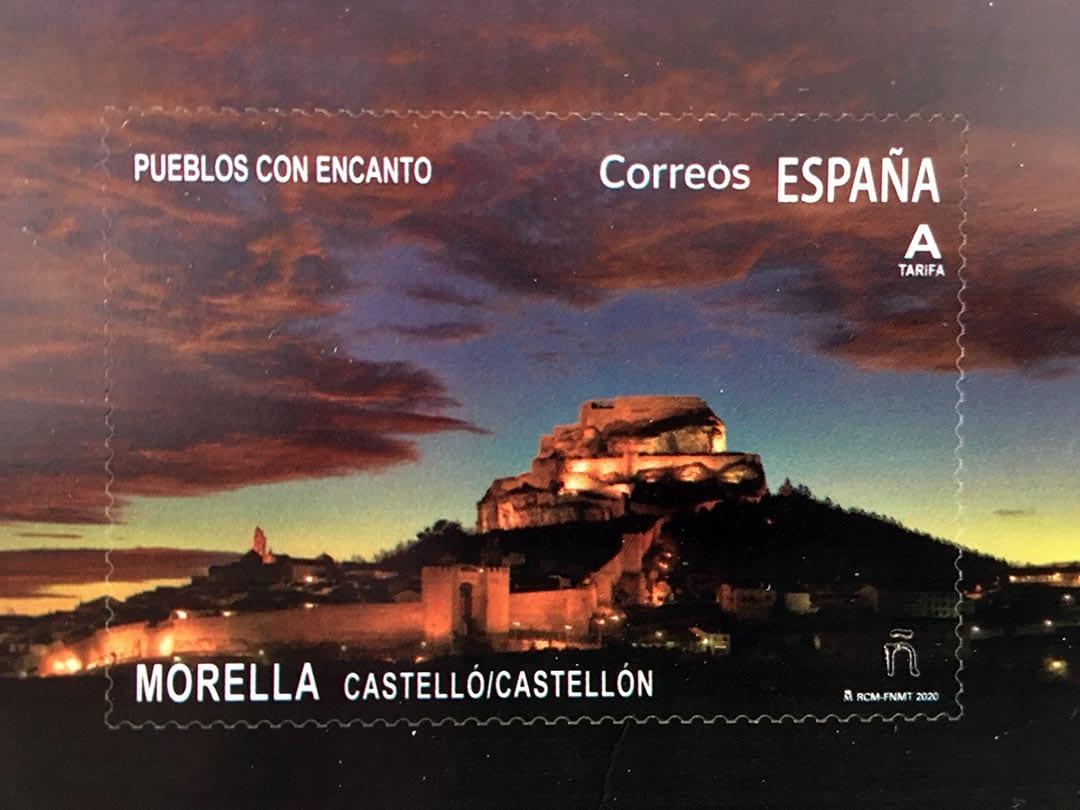Correus emet avui un segell dedicat a Morella