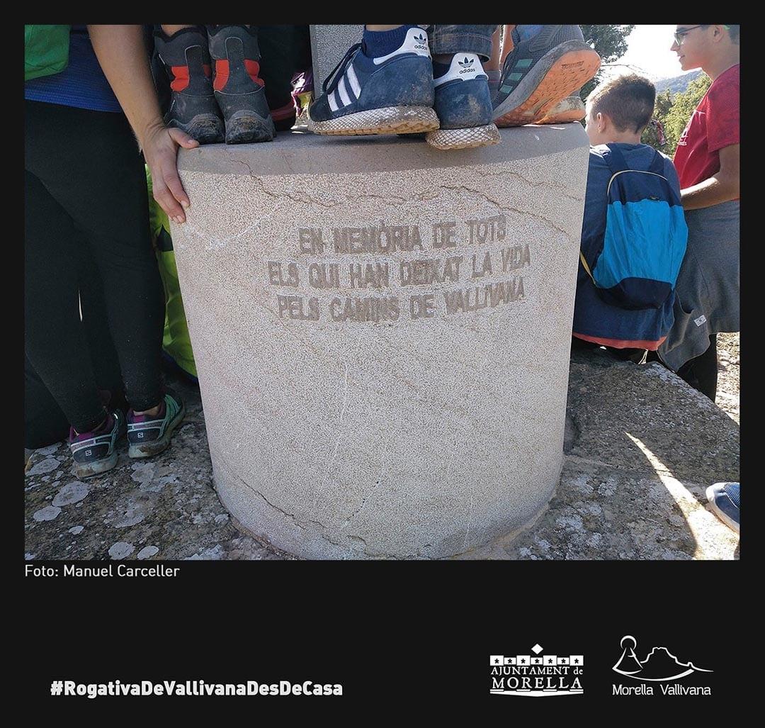 Molta participació en la Rogativa de Vallivana des de casa