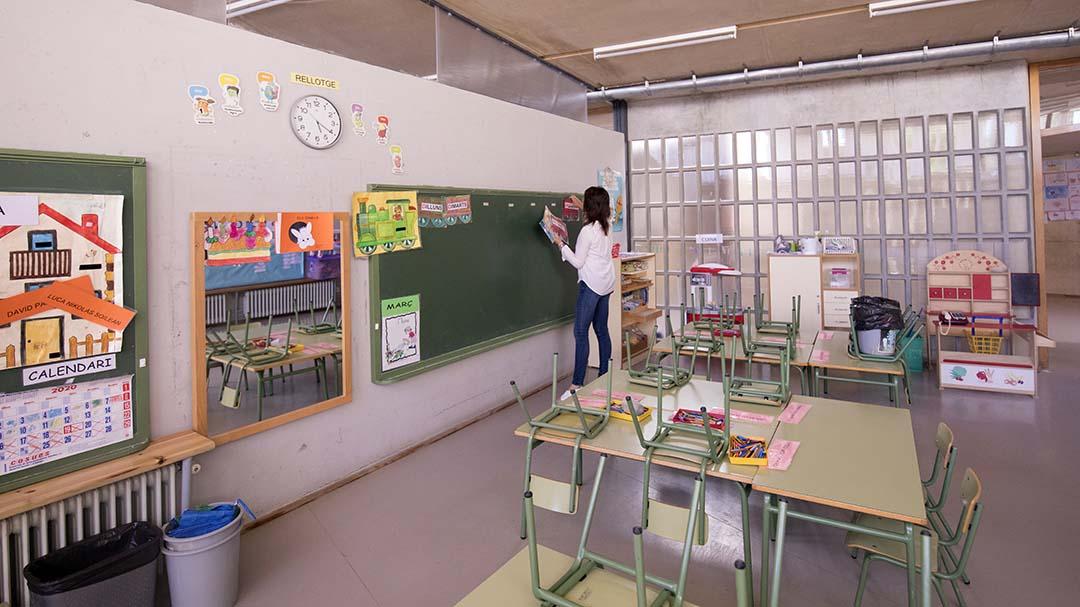 """""""L'escola rural té una tasca molt important que és lluitar contra el despoblament"""""""