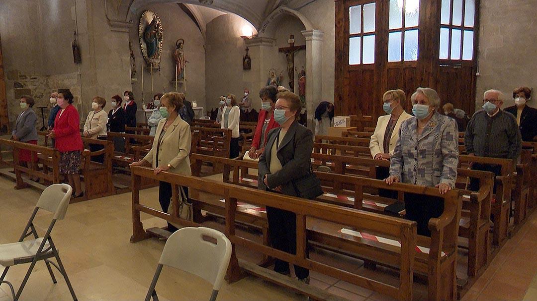 Vilafranca celebra la Pasqua del Llosar amb només una missa a la parròquia