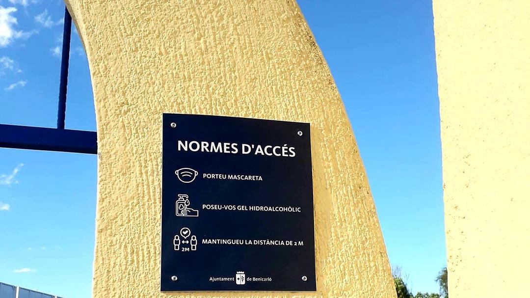 El camp de futbol, l'annex del Pavelló i la Pista de Ciclisme tornen a obrir les portes
