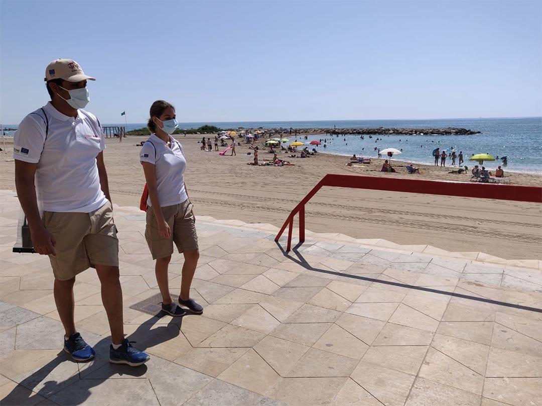 Vinaròs compta ja amb els auxiliars de platges