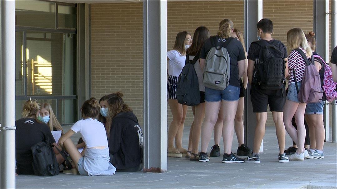 Els alumnes de l'IES Els Ports comencen les proves de selectiu