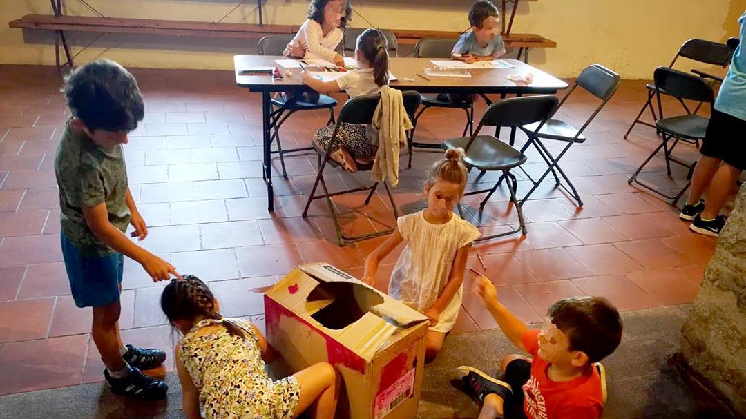 Comença l'Escola d'Estiu de Castellfort amb més de 10 xiquets