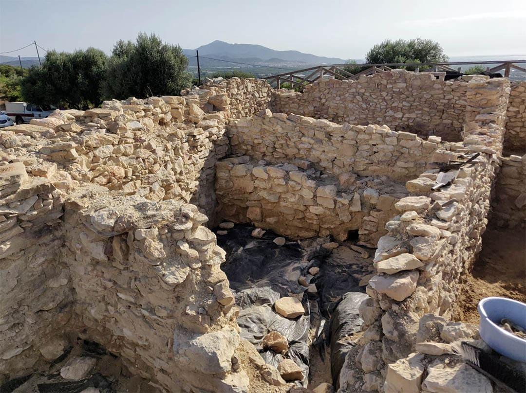 Acaba la campanya arqueològica al Puig de la Misericòrdia