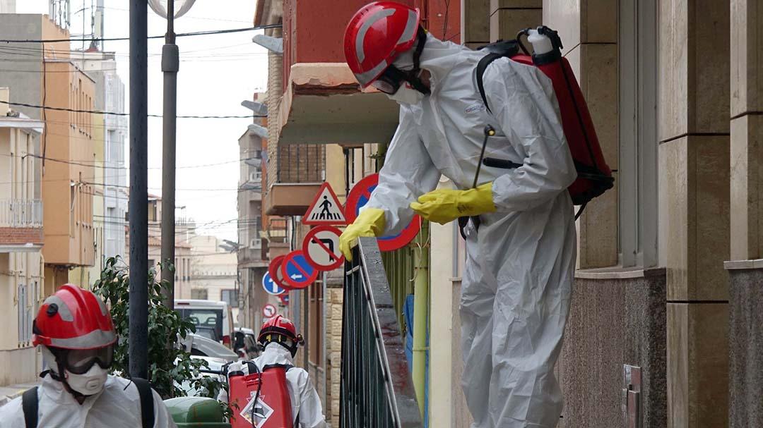 Els Bombers coordinaran les sol·licituds de desinfecció dels ajuntaments