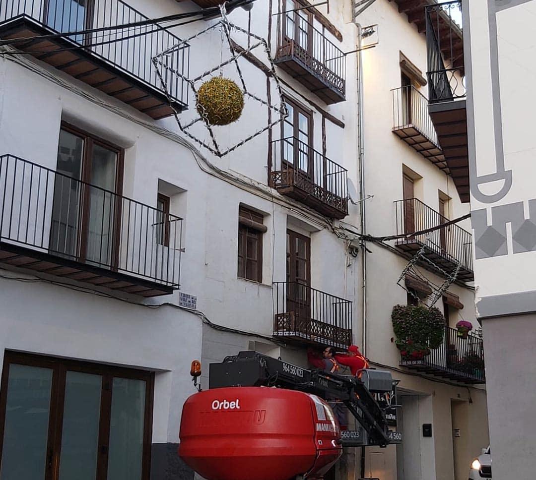Les llums de Nadal il·luminaran la Residència de Morella