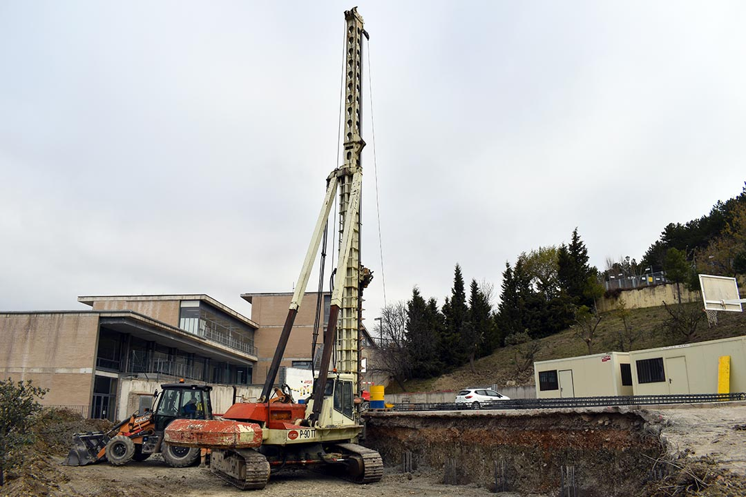 En marxa el pilotatge de les noves aules del col·legi de Morella