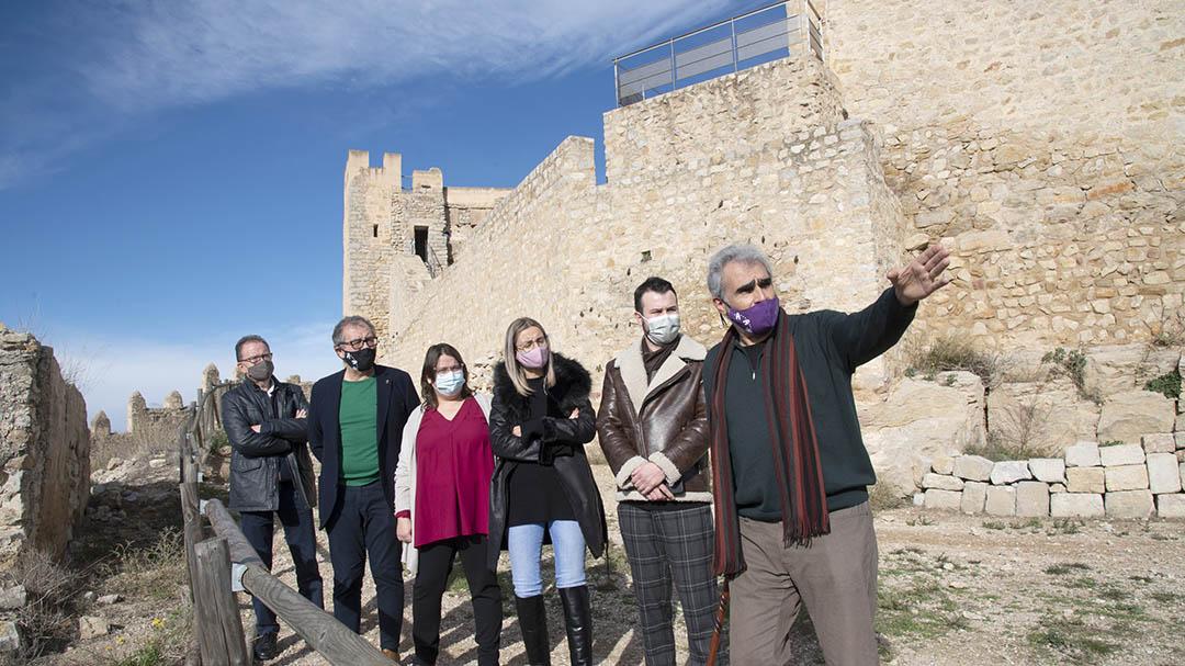 José Martí apunta als fons europeus per a impulsar el castell com a reclam turístic