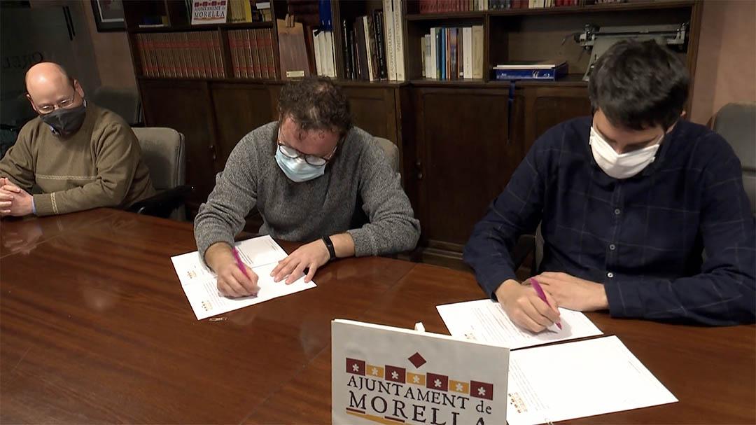 L'Ajuntament i els gaiteros renoven el conveni