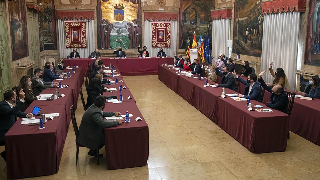 Diputació aprova un pressupost de 168,3 milions per a reactivar Castelló