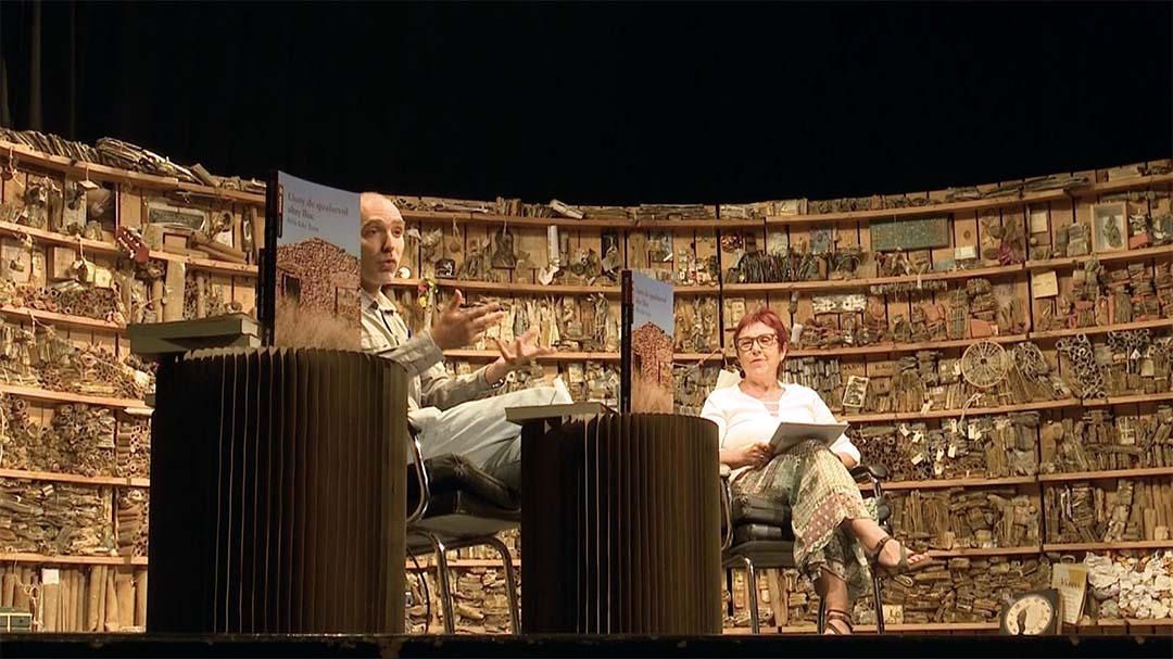 Félix Edo presenta el seu nou llibre a Vilafranca