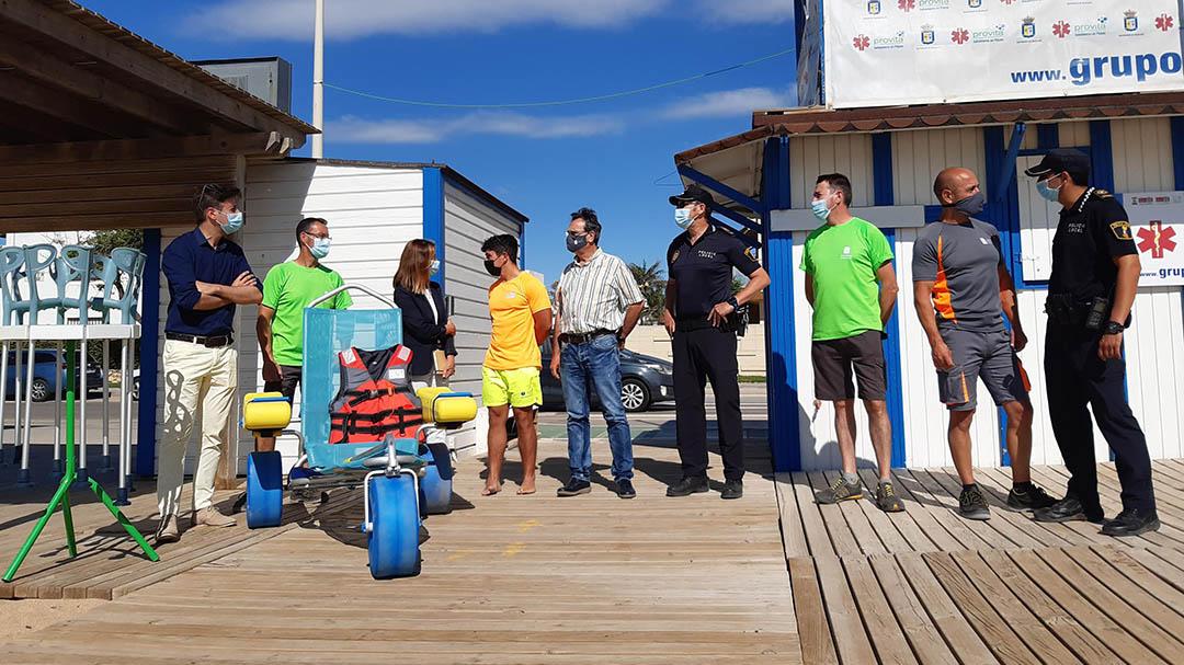 Les platges de Benicarló ja estan al 100% per a la temporada d'estiu