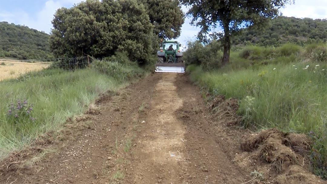 Es milloren les pistes i accessos a explotacions de Morella