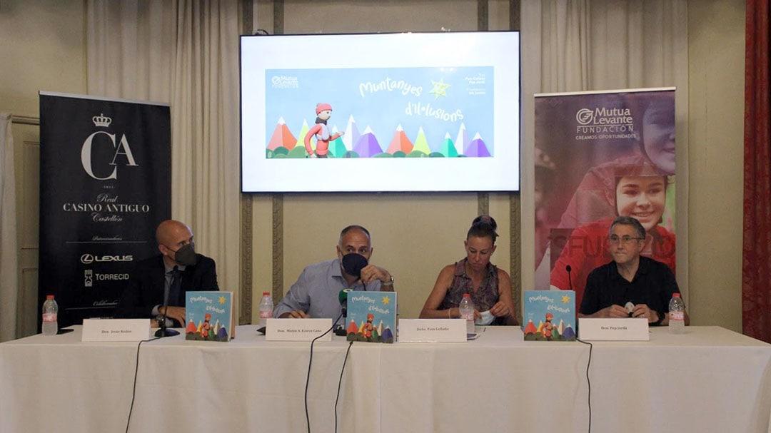 El conte 'Muntanyes d'il·lusions' es presenta a Castelló