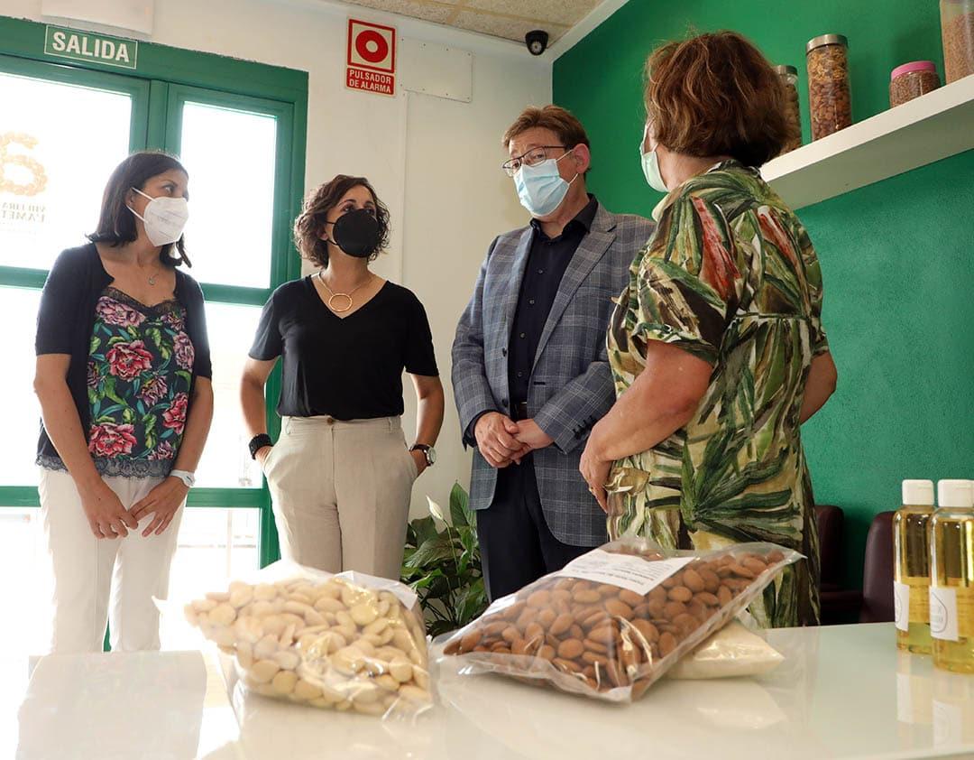 Ximo Puig fa una visita institucional a Albocàsser
