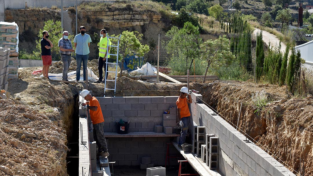 Inicien els treballs de la xarxa de gas del polígon industrial de Morella