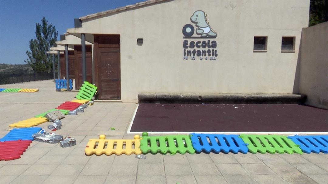 Morella denuncia els botellots i actes vandàlics