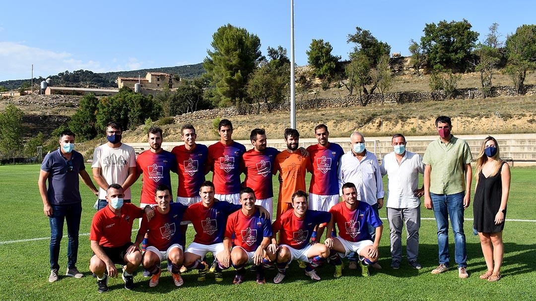El Morella FC homenatja Rafa Ripollés i presenta l'equip per a la nova temporada