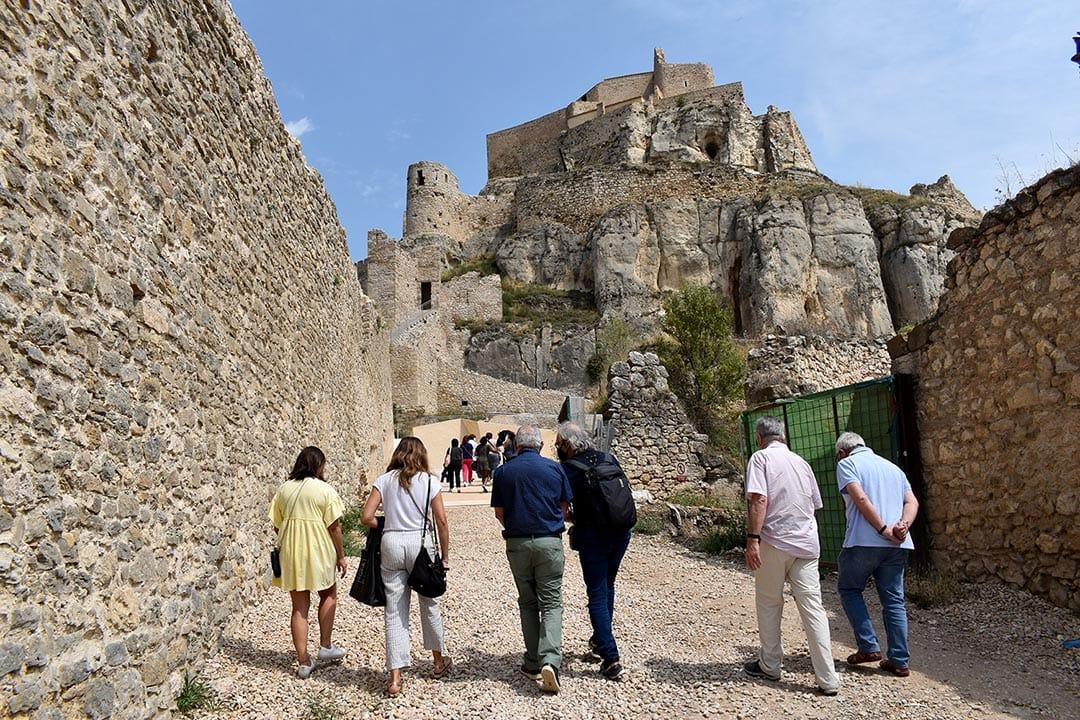 Acaben les obres a les torres de Sant Francesc i La Pardala del Castell de Morella