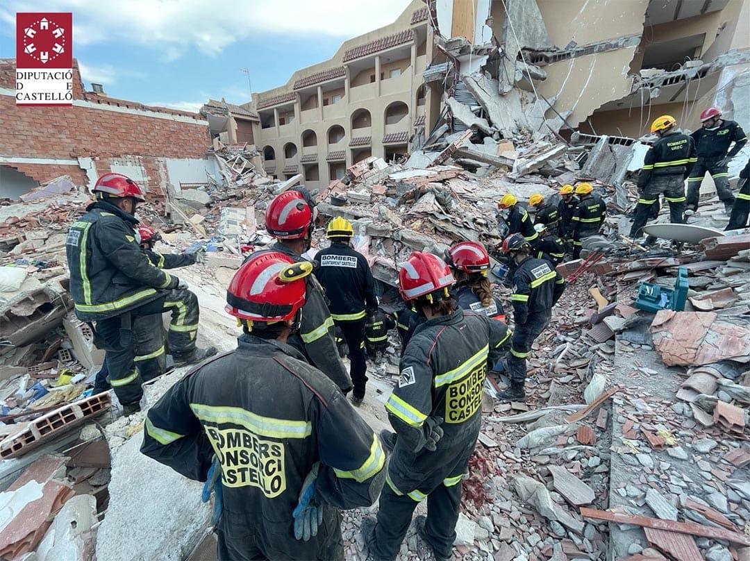 Troben el cos de la dona desapareguda a l'edifici enfonsat de Peníscola