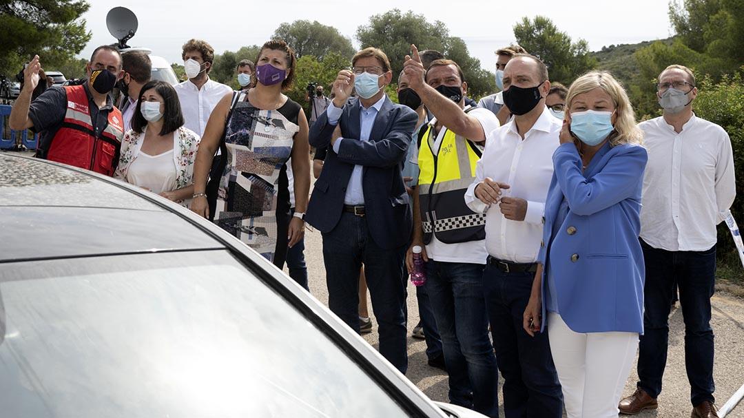 Diputació s'ofereix per reallotjar als afectats per l'ensorrament