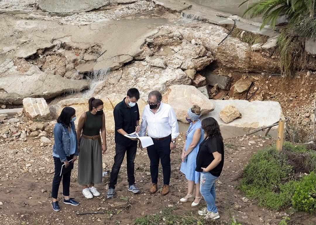 Guillem Alsina demana la Zona Catastròfica per les inundacions